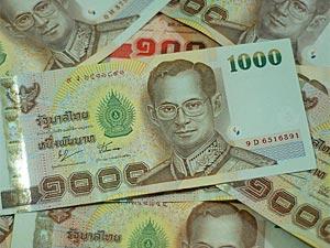 Thais Baht geld thailand