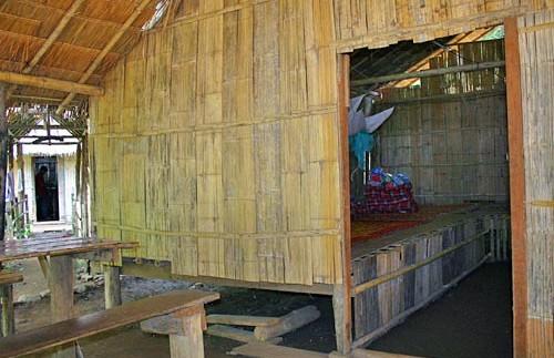 Hut tussen bevolking Thailand