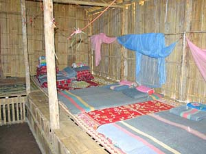 hut lokale bevolking Thailand