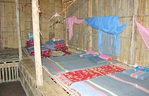 Eenvoudige overnachting Thailand