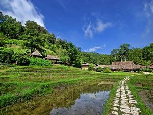 Namtha Mountain Thailand Laos reis