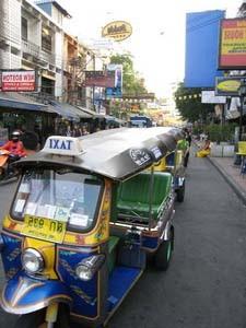 tuk tuk typisch Thailand vervoer