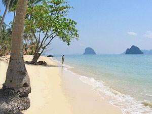 Rondreis Zuid Thailand strand