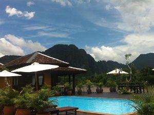 Zwembad Vang Vieng Laos