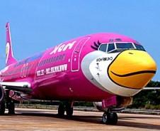Vlucht naar Thailand