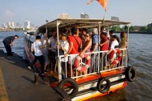 Vervoer in Bangkok Thailand