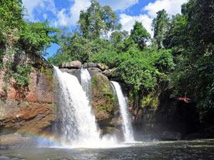 Khao Yai waterval Thailand
