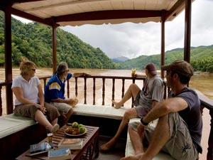 Cruisen over de Mekong naar Laos