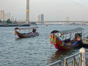bangkok boot chao phraya thailand