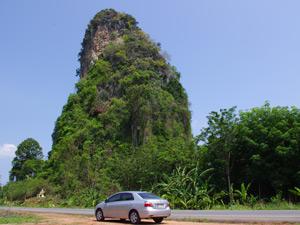 self drive zuiden thailand