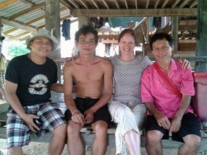 thailand dorp noorden