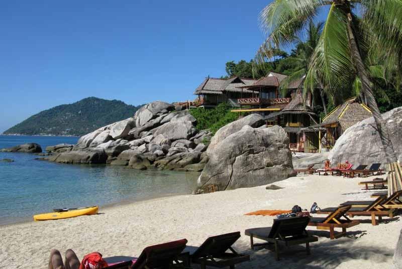 Thailand vakantie - strand Ko-Tao