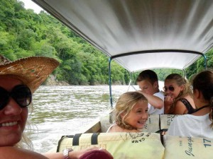 Longtail boot River Kwai