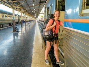 Thailand met de trein