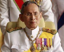 Koning Bhumibol Thailand overleden
