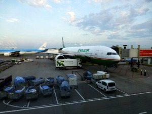 Vliegtuig Eva Air