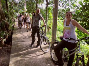 Excursie fietsen in Bangkok