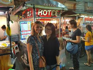 Lokale markt Thailand