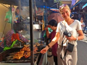 Thailand reis Bangkok markt