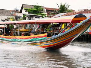 Verblijf op boot Bangkok Thailand