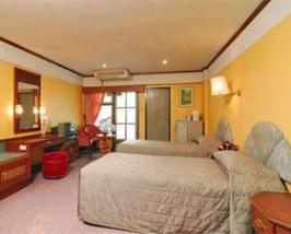 budget hotel lobby kamer bangkok