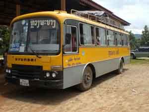 lokalebus in laos