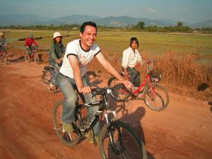 fietsen luang prabang laos