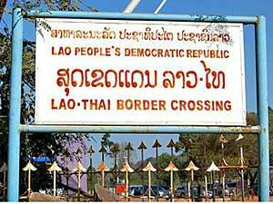 grensovergang laos