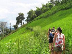 luang namtha trekking laos
