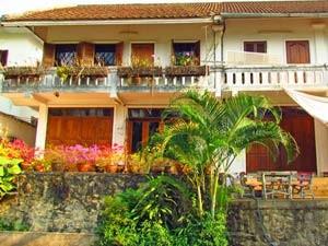 Laos vakantie - Luang Prabang koloniaal huis
