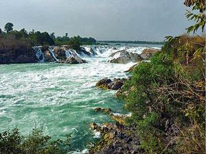 khonephapeng waterval laos