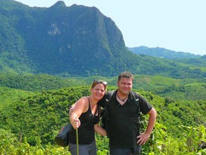 Laos reizen - trekking