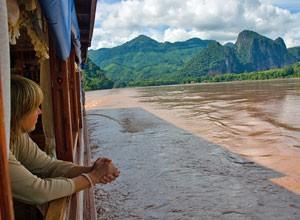 op de boot mekong