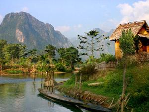rivier vang vieng laos