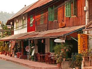 straat luang prabang laos