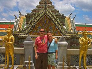 Thailand Bangkok - paleis