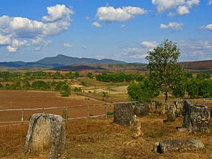 uitzicht phonsavan laos