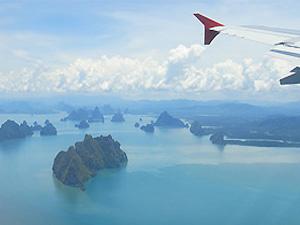 Internationale vlucht Bangkok Amsterdam - Hoogtepunten Laos-reis