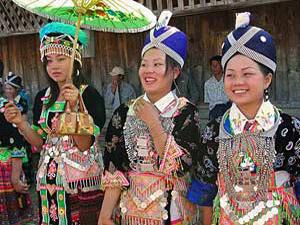 vrouwen luang namtha laos