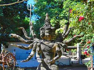 Buddhapark Vientiane Laos