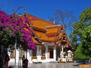 tempel doi inthanon thailand