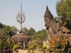 boeddhapark Laos rondreis totaal