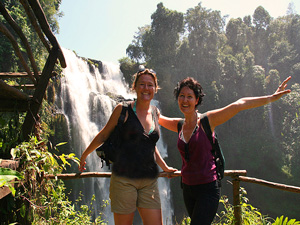Laos reizen - waterval