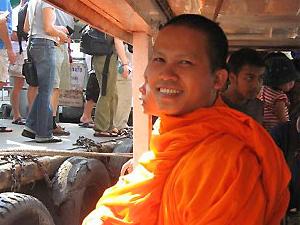 noord thailand monnik cambodja