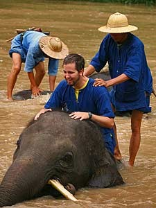 olifant bad laos