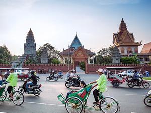 phnom penh riksja cambodja