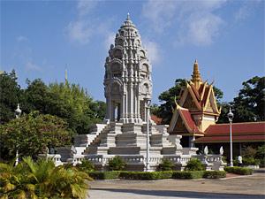 Royal Palace Phnom Penh Cambodja