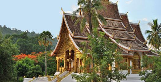 Rondreis Laos - Luang prabang tempel