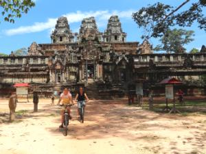 Angkor Wat fietstour