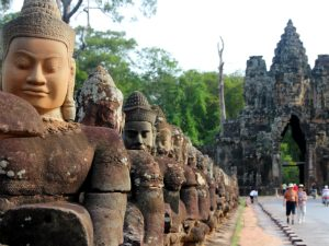 Cambodja rondreis Angkor Wat - klein